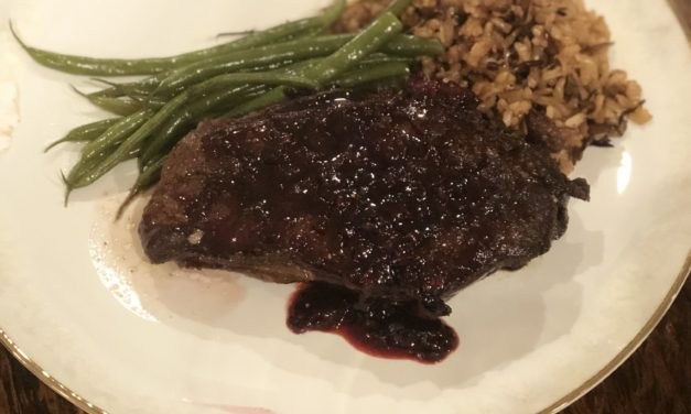 Duck Breast with Blackberry Marsala Sauce