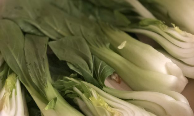 Bok Choy and Garlic